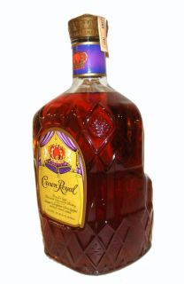 Crown Royal Canadian Whiskey Magnum 1 75L Vintage 1977