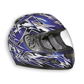Vega Altura Havoc Motorcycle Street Bike Full Face Sport Bike Helmet