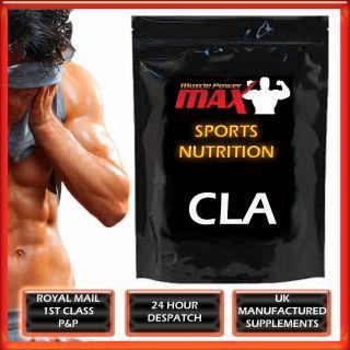 Muscle Power Max CLA AB Sculpt Fat Burn Gel Capsules 1000mg Body