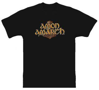 Amon Amarth Music Death Metal Black T Shirt All Sizes
