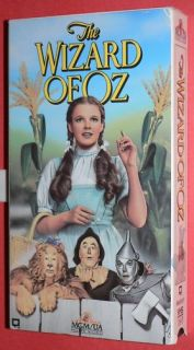 The Wizard of oz VHS 1991 MGM Judy Garland Tin Man Toto