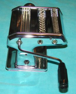 AMPIA TIPO LUSSO MODEL 150 Stainless Steel Pasta Maker Machine Italy