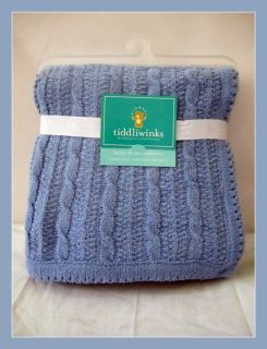 Amy COE Carters and Tiddliwinks Chenille Blankets You Choose