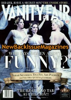 Vanity Fair 4 08 Tina Fey Amy Poehler Sarah Silverman