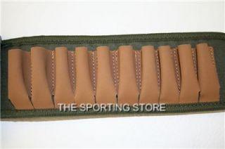 Beretta Leather Cordura Cartridge Belt with Pouch 12g