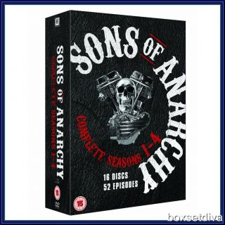 Sons of Anarchy Complete Series Seasons 1 2 3 4 Brand New DVD Boxset