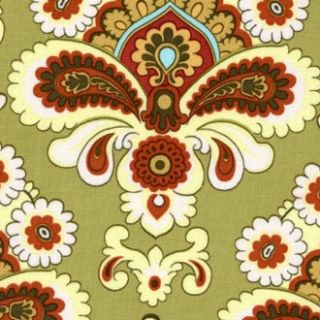 Amy Butler Belle French Wallpaper Khaki Green Fabric