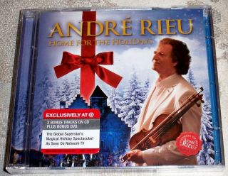 ANDRE RIEU Home for the Holidays CD DVD Special Deluxe Edition 3 Bonus