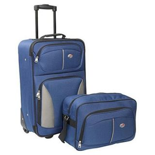 New American Tourister Fieldbrook 2 Piece Luggage Set