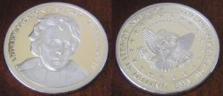 ANDREW JACKSON 1829   1837 7th PRESIDNET PROOF SILVER COIN   USA
