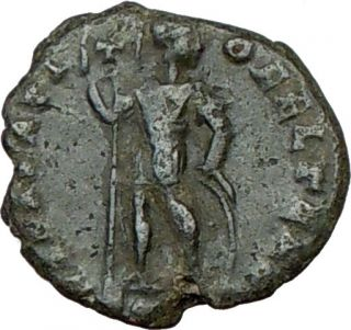 Procopius 366AD RARE Genuine Authentic Ancient Roman Coin w Chi Rho