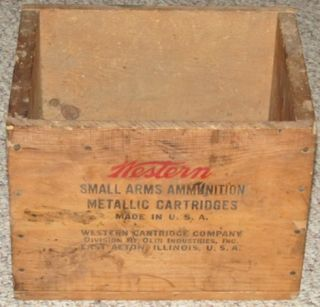 Western Cartridge Company 351 WINCHESTER S L R 2000ct Wooden Ammo Box