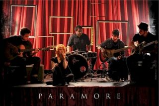Music Poster Paramore Acoustic Group Hayley Williams