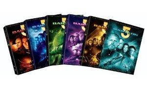 New Babylon 5 DVD 1 5 Seasons 1 2 3 4 & 5 + Movie Collection