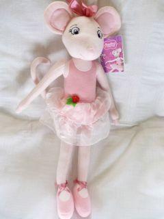 17 Angelina Ballerina Soft Plush Toy Doll BNWT from The TV Cartoon