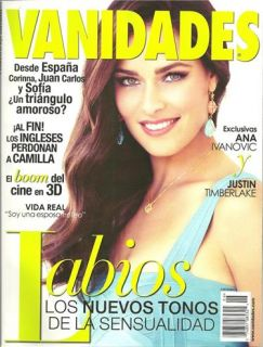 of Vanidades (Estados Unidos). It features exclusivas Ana Ivanovic