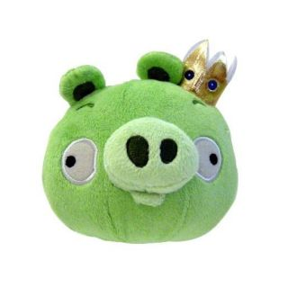 Angry Birds 5 inch Plush with Sound King Pig
