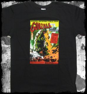 Godzilla King of The Monsters T Shirt Official Fast SHIP