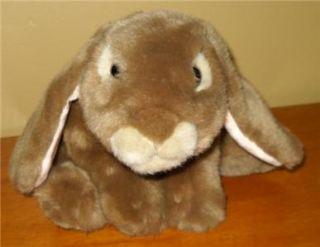 Plush Stuffed Animal Alley Tru Brown Rabbit Bunny 13