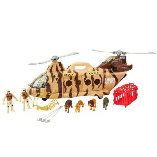 Animal Planet Wildlife Rescue Helicopter Playset