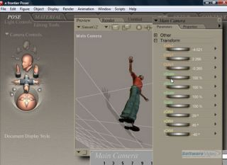 Smithmicro Poser 7 Training DVD Video Tutorials Animation Modeling