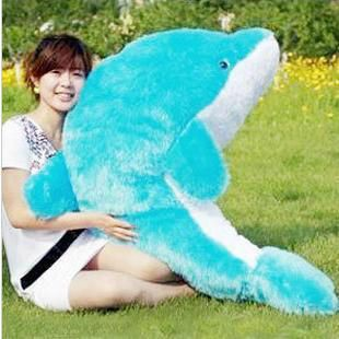 Giant Huge Cuddly Stuffed Animals Plush Lovely big dolphin doll