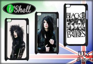 Black Veil Brides Andy Biersack iPod Touch 4 4G 4th Gen iPhone Hard