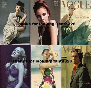 Vogue Isetan 2005 Ilona Kuodiene Anna Maria Jagodzinska