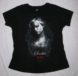 Vampire Sookie Stackhouse Anna Paquin Goth Black Shirt New 2X