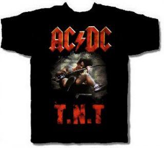 AC/DC cd cvr High Voltage ANGUS / T.N.T. Official SHIRT XL new
