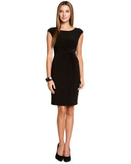 anne klein black rhinestone brooch dress $ 124 00 $