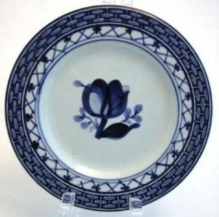 Royal Copenhagen Porcelain Tranquebar Blue Butter Pat