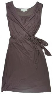 New Ann Taylor Loft Mauve Wrap Dress Sz L