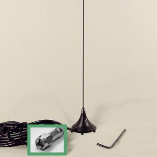MARINE VHF RADIO ANTENNA   MOBILE MINI MAG MOUNT   SMA
