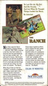 vhs the ranch andrew stevens elizabeth keefe