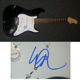 Michael Anthony Autographed Signed Guitar GAI Van Halen