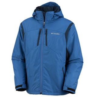 NWT 155 Columbia Antimony III Jacket Blue Mens Big Tall 1X Extra Large