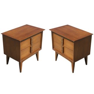 Vintage Mayan Design Night Stands Side Tables PRICE REDUCED