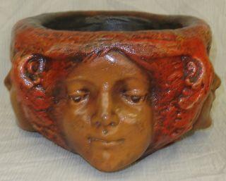 Greek Art Three Graces Female Angels Urn Vase Sculpture Antique Finish