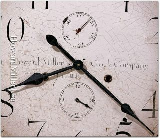 Howard Miller 25 Quartz Wall Clock Antique Dials Gallery Wall Clock