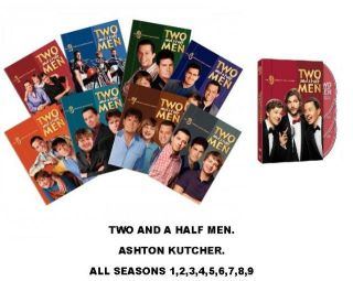 Two and a Half Men DVD Set The Complete Seasons 1 9. FAST FREE