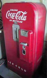 vintage coke machine vendo v39 machine currently does not work