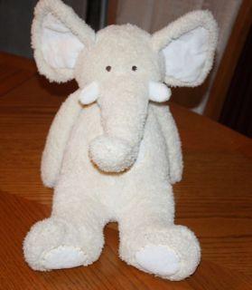 Baby Animal Adventure Cream Stuffed Elephant Plush 19