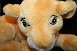 14 Disney The Lion King Plush Nala Simbas Girl Friend Cub Laying