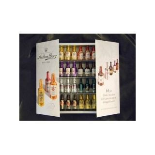 64 Ct Anthon Berg Dark Chocolate Liqueur Mini Bottle Gift Box Set 2012