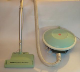 Vintage Hoover Quadraflex Powermatic Canister Vacuum Cleaner Retro