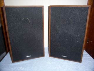 VINTAGE PANASONIC STEREO SPEAKERS, MODEL SB 104 FOR SB 1042 STEREO