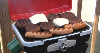 Cuisinart Portable Tabletop Propane Gas Grill Compact High Performance
