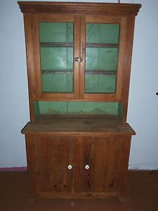 Antique Vintage Primitive Hoosier ? Cabinet Cupboard Farm Kitchen w