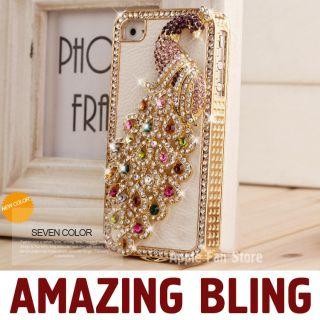 Rhinestone Bling Case for Apple iPhone 4 4S Designer Cover